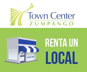 Renta un loca en town center zumpango